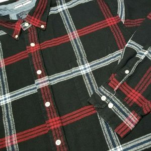 XL NAUTICA Plaid Long sleeve Shirt